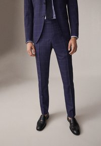 Massimo Dutti - Suit trousers - blue - 0