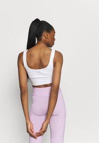 Cotton On Body - SCOOP NECK VESTLETTE - Top - white - 2