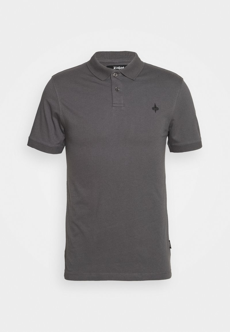 Zign - Polo - dark gray