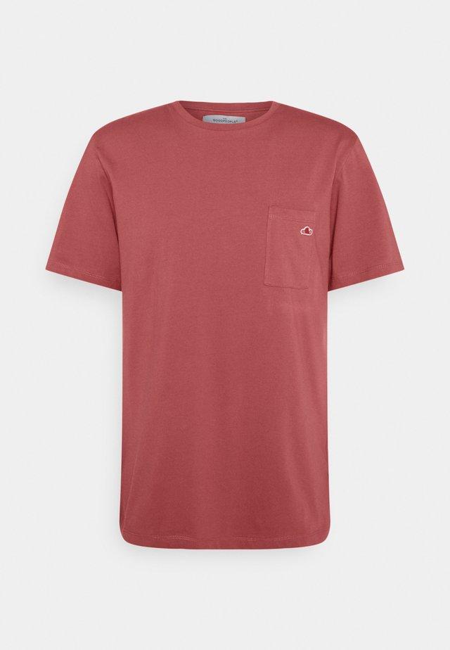 TOM - T-shirt basic - raspberry pink