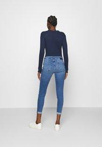 Mavi - LEXY - Skinny džíny - mid brushed glam - 2