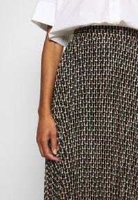 Dorothy Perkins - MIDI SKIRT - A-line skirt - black - 4