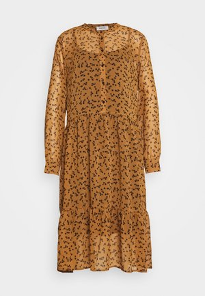 TINYA PRINT DRESS - Shirt dress - camel