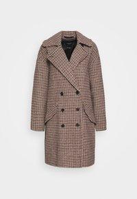 Selected Femme - SLFESSIE COAT - Klassischer Mantel - light grey melange - 4