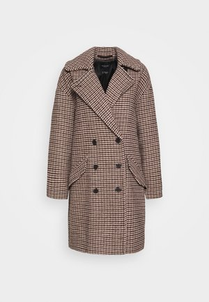 SLFESSIE COAT - Zimní kabát - light grey melange