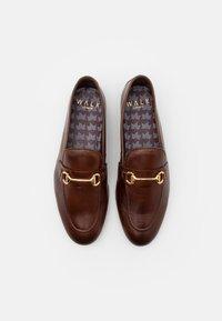 Walk London - TERRY - Elegantní nazouvací boty - brown - 3