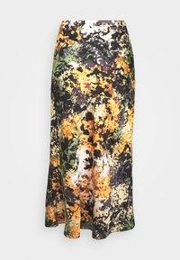 Never Fully Dressed - BLOOM PRINT SLIP SKIRT - Pencil skirt - navy/multi - 3
