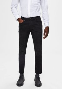 Selected Homme - Slim fit jeans - black denim - 0