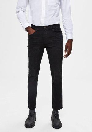 Džíny Slim Fit - black denim