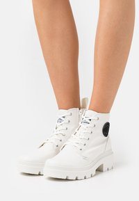Palladium - PALLABASE  - Ankle boots - star white - 0