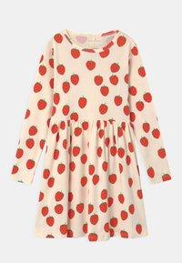 Mini Rodini - STRAWBERRY - Jersey dress - offwhite - 0