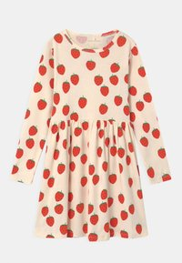STRAWBERRY - Jersey dress - offwhite