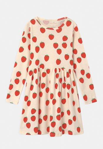 STRAWBERRY - Jersey dress - offwhite