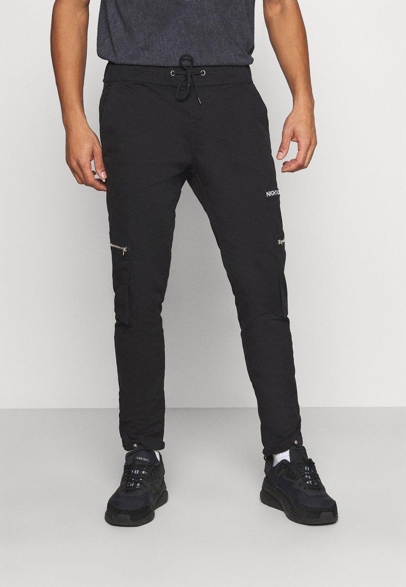 Night Addict - NAASTRID - Cargo trousers - black