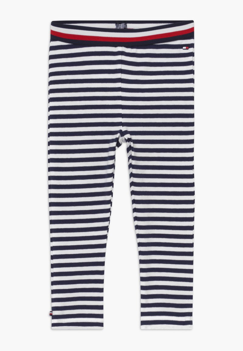 Tommy Hilfiger - BABY GIRL  - Leggings - Trousers - blue