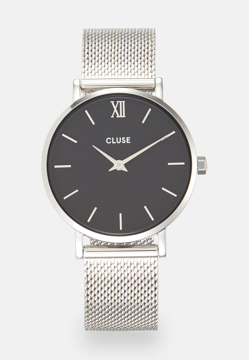 Cluse - MINUIT - Hodinky - silver-coloured/black