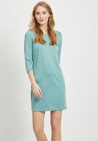 Vila - VITINNY - Day dress - mottled light blue - 0