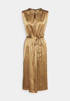 RAYA SLEEVELESS DRESS - Cocktail dress / Party dress - camel