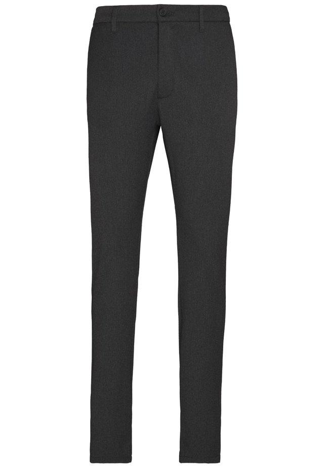 CRIMSON - Trousers - grey melange
