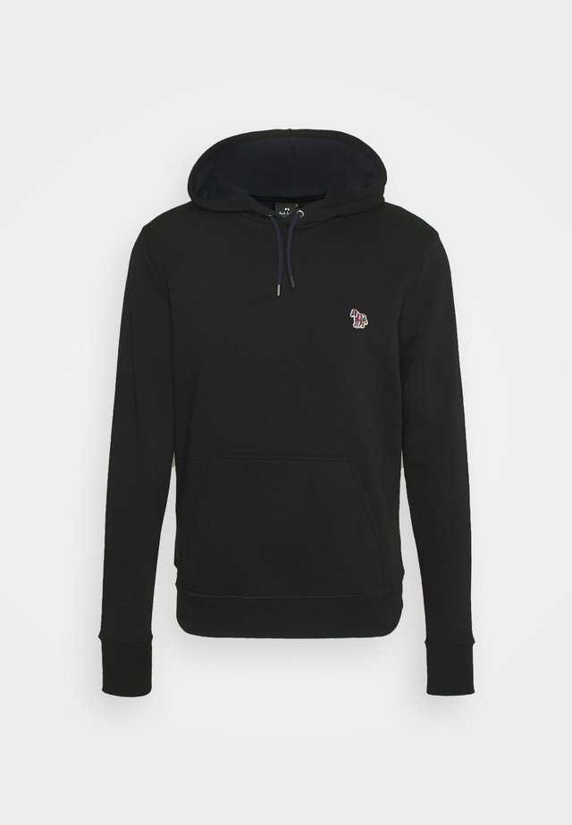 MENS REGULAR FIT HOODY - Sweatshirt - black