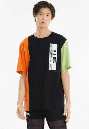 PORSCHE LEGACY STATEMENT  - Print T-shirt -  black