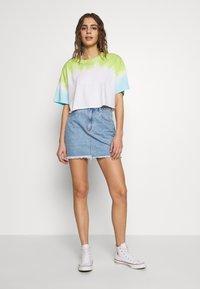 Abrand Jeans - SKIRT - Denim skirt - esmeralda - 1