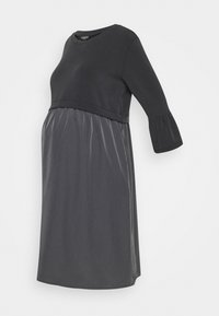 ATTESA - Sukienka z dżerseju - anthracite - 0