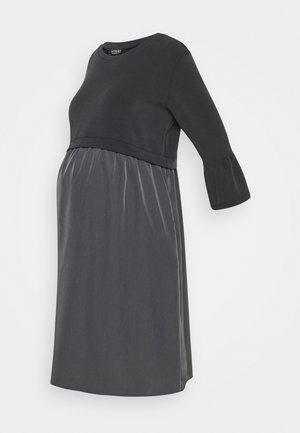 Žerzejové šaty - anthracite