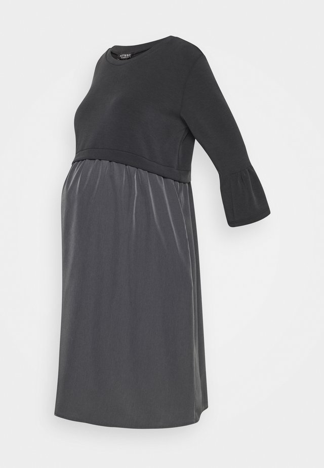 Jersey dress - anthracite
