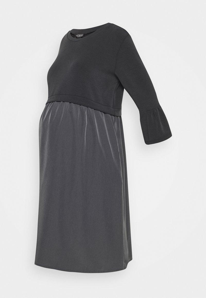 ATTESA - Sukienka z dżerseju - anthracite