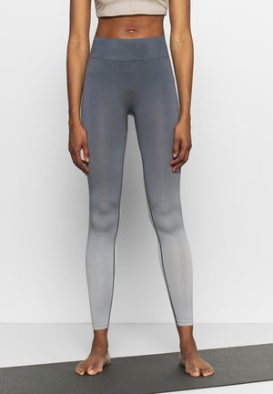 SEAMLESS LEGGINGS - Medias - ombre blue