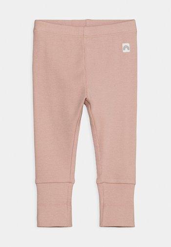 SOLID UNISEX - Leggings - Trousers - dusty pink