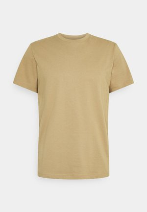 SLHNORMAN O NECK TEE  - T-shirt basique - kelp