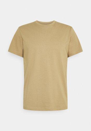SLHNORMAN O NECK TEE  - Basic T-shirt - kelp