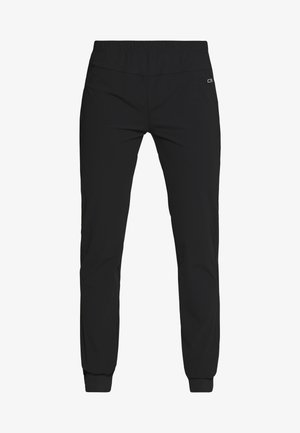 WOMAN LONG PANT - Trousers - nero