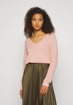 VICHASSA VNECK - Jumper - misty rose