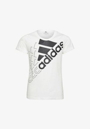 LOGO - Camiseta estampada - white