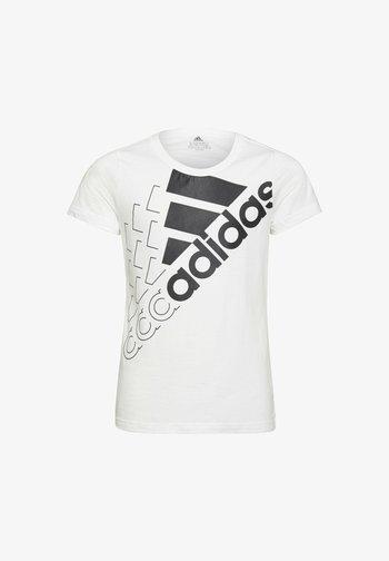LOGO - Print T-shirt - white