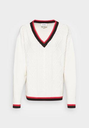 MATILDE SWEATER - Pullover - white light
