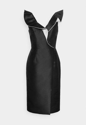 STYLE  - Vestido de cóctel -  black/offwhite