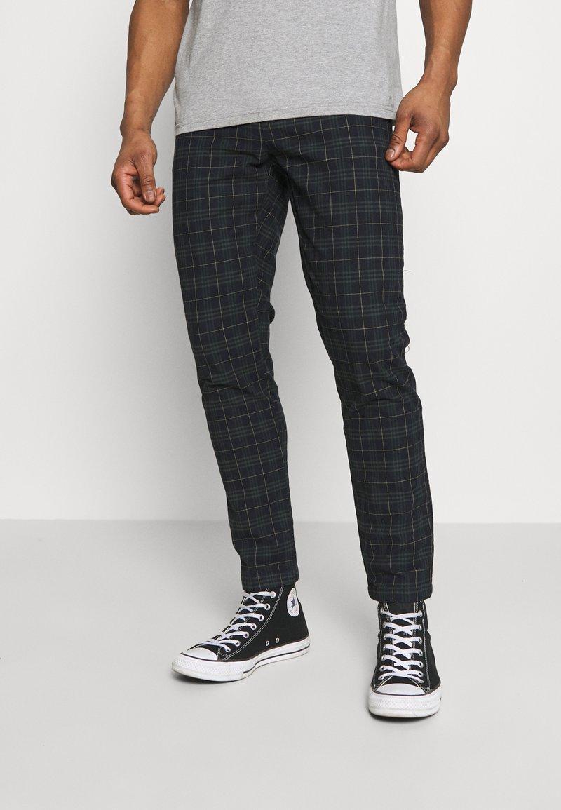 Redefined Rebel - KING PANTS - Pantalon classique - mountain check