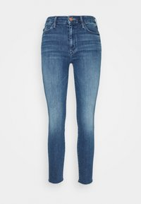 Mother - LOOKER ANKLE FRAY - Jeans Skinny Fit - blue denim - 5