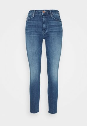 LOOKER ANKLE FRAY - Jeansy Skinny Fit - blue denim
