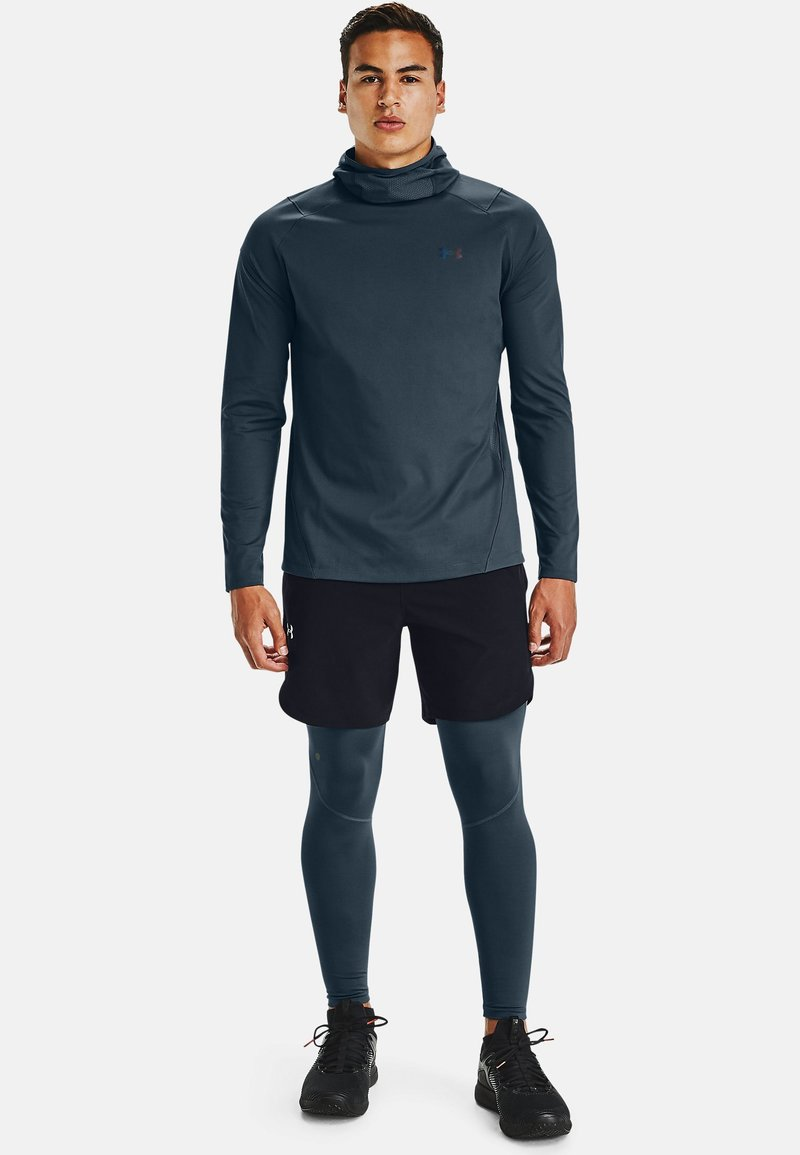 Under Armour - Long sleeved top - mechanic blue