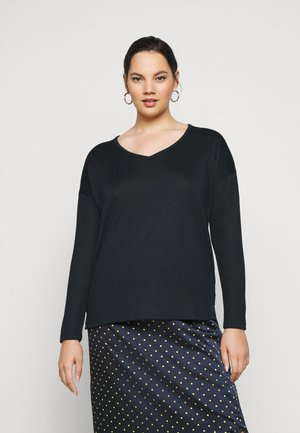 SISA V NECK  - Jumper - midnight marine