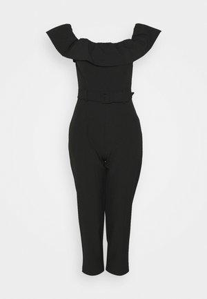 BARDOT JUMPSUIT - Jumpsuit - black