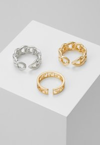 Pieces - PCMILBA 3 PACK - Ring - gold-coloured/silver-coloured - 2