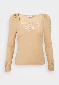 Dorothy Perkins Petite - Long sleeved top - camel - 0