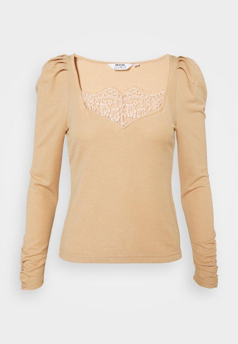 Dorothy Perkins Petite - Long sleeved top - camel