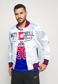 Mitchell & Ness - Training jacket - white - 0